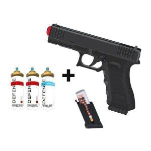GD-105 Pepper Gun Black