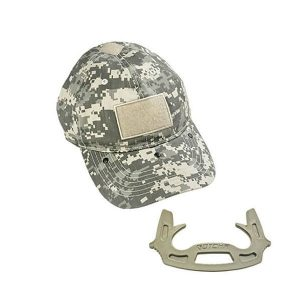 Tactical Cap with Self-Defense Tool